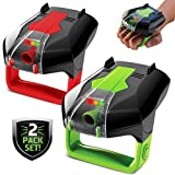 Sharper Image Two-Player Electronic Laser Tag Game Toy Set with Infrared 2x Laser Blasters Guns with Point Tracking, Sound/Vibration Effects, Outdoor/Indoor, Children 6 Years+, Includes AAA Batteries