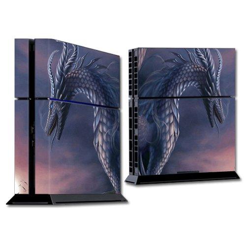 Skin MightySkins compatible con la consola Sony PS4 - Dragon Fantasy | Cubierta protectora, duradera y única de vinilo para calcomanías | Fácil de aplicar, quitar y cambiar de estilo | Fabricado en EE. UU.
