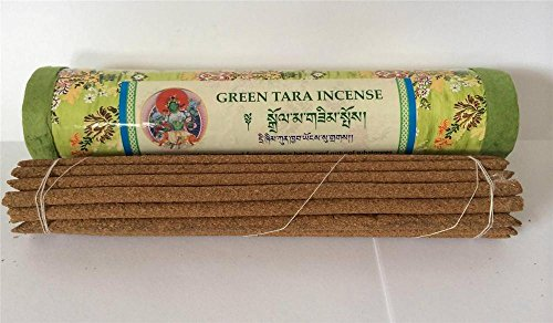 - Handmade Green Tara Incense in a Lokta Paper Gift Box