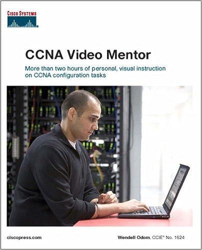 Book CCNA Video Mentor: book number 1624