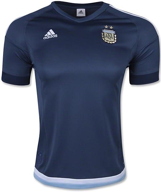 b3f8ef3fd Adidas Mens Argentina Away Replica Soccer Jersey 2XL Night Marine-White