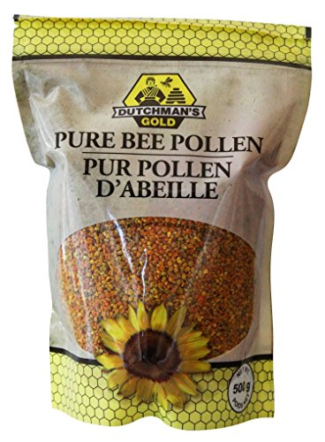 Super Premium Bee Pollen 1.1 lbs - 100% Canadian sourced - No fillers or offshore pollen by Dutchman's Gold