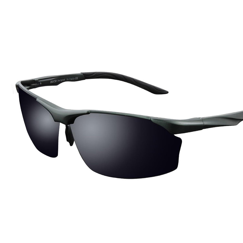 Duco Polarisierten Sonnenbrille Herren für Radfahren Angeln Golf Unzerbrechlich 8513S