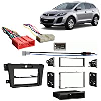 Fits Mazda CX-7 2010-2012 Multi DIN Aftermarket Harness Radio Install Dash Kit