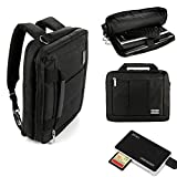 sands cf card reader - El Prado Laptop/Tablet Travel Shoulder Bag, Messenger Bag & Backpack For Microsoft Surface Pro 4 + All-In-One Read & Write USB Memory Card Reader