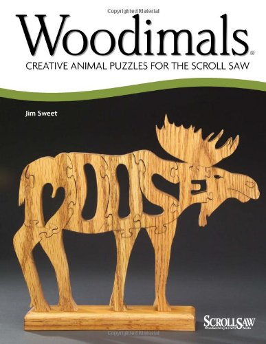 Woodimals Creative Puzzles ScrollSaw Woodworking product image