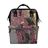 Best Legend Laptop Backpacks - Diaper Bags Birds Flowers Tree Fashion Mummy Backpack Review