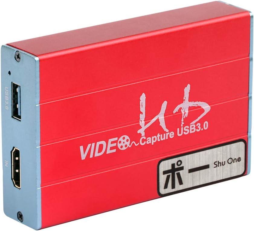UNISHEEN USB 3.0 HDMI SDI Dual Input Capture Card UC3300HS HDMI to USB 3.0 HD 1080P Live Streaming Video Grabber Converter Video Broadcast Game Live Stream