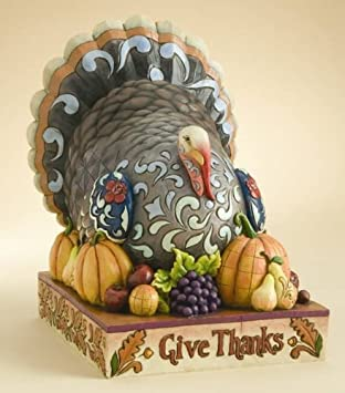 Jim Shore Give Thanks Turkey Figurine