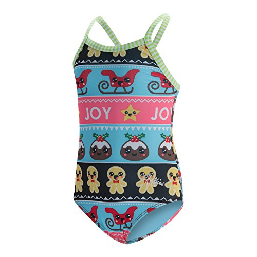 Dolfin Toddler Uglies One Piece Swimsuit (Sweater Party, 3T) -
