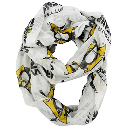 NHL Pittsburgh Penguins  Sheer Infinity Scarf – DiZiSports Store