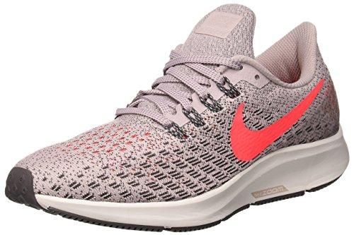 Nike Women's Air Zoom Pegasus 35 Particle Rose/Flash Crimson Ankle-High Mesh Running Shoe - 9M