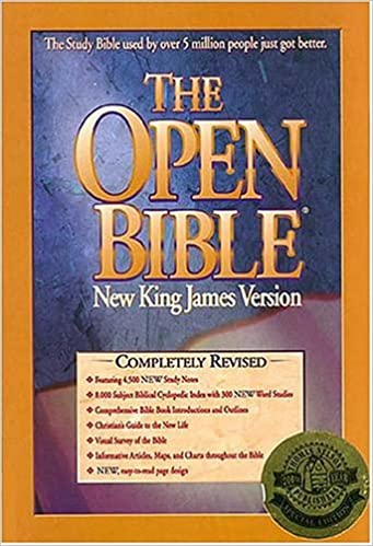 Buy The Open Study Bible: New King James Version Book Online at Low