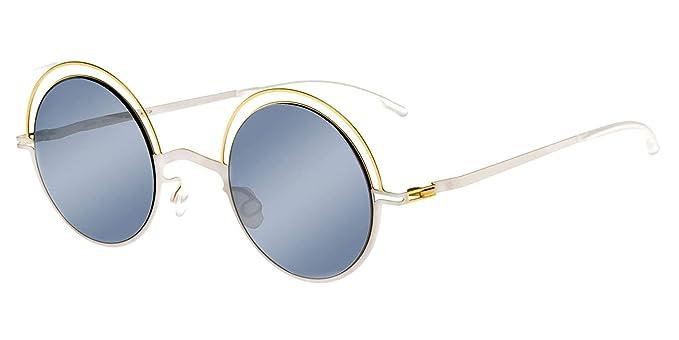 Mykita Gafas de Sol BUENO CHAMPAGNE GOLD AURORE/SILVER ...