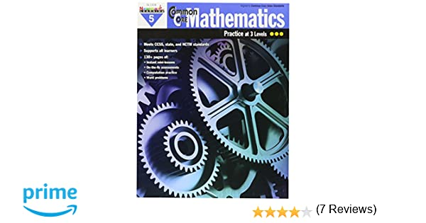 Math Worksheets free printable math worksheets 5th grade : Amazon.com: Newmark Learning NL1308 Common Core Mathematics ...