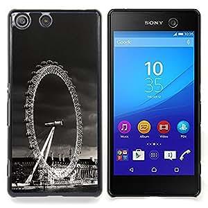 """For Sony Xperia M5 E5603 E5606 E5653 , S-type Arquitectura de Londres Visualización de ruedas"""" - Arte & diseño plástico duro Fundas Cover Cubre Hard Case Cover"""