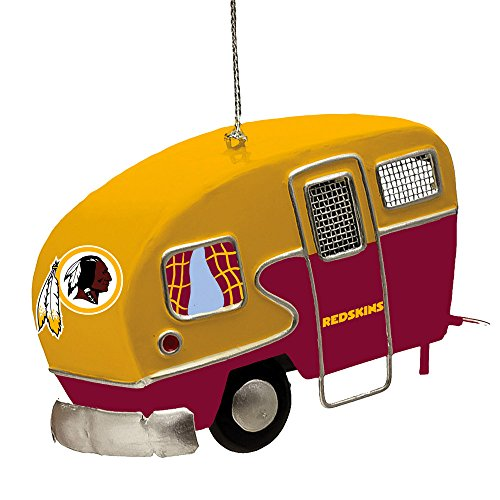 Team Sports America Metal Washington Redskins Camper Ornament