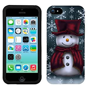 Apple iPhone 5C Snowman in Red Phone Case Cover