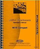 Allis Chalmers 5015 Tractor Operators Manual