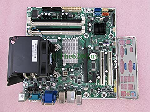 HP Pro 3000 PINE ROW Motherboard 587302-001 + Core 2 Duo E8400 3GHz CPU + Fan IO - X4500hd Graphics