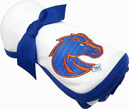 Future Tailgater Boise State Broncos Baby Receiving Blanket