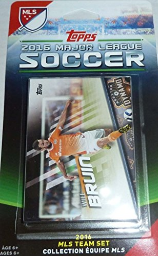 Houston Dynamo 2016 Topps MLS Factory Sealed 10 Card Team Set with Will Bruin Plus