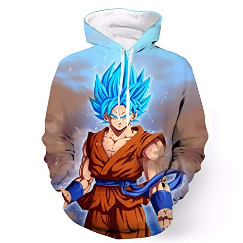Beckett Cosplay Camiseta Sudadera Impresión Dragon S Con Lzh3d De Ball Unisex Sudaderas xxl 3d Béisbol Capucha Anime xnFnv1w6q0