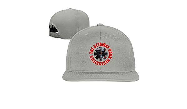 Unisex Custom Adjustable Red Hot Chili Peppers The Getaway Dark Necessities  Peaked Snapback Hat One Size  Amazon.ca  Clothing   Accessories 431336db776e