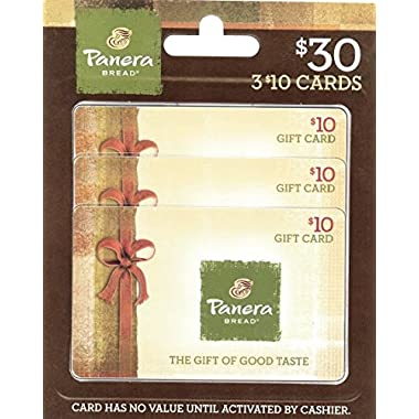 Panera Bread Gift Cards, Multipack of 3 - $10