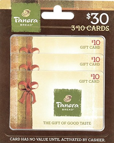 Amazon.com: Panera Bread Gift Cards, Multipack of 3 - $10: Gift Cards