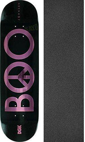 長老ブロック脳DGKスケートボードBoo Johnson PeaceスケートボードDeck – 8.25