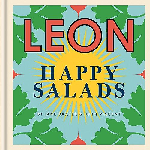 LEON Happy Salads (Happy Leons) by Jane Baxter, John Vincent