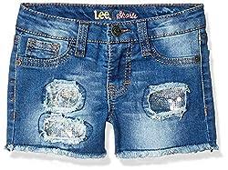 Girls' Scalloped Shorts