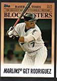 2012 Topps Update Blockbusters BB 16 Ivan Rodriguez Florida Marlins
