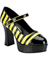 Bumble Bee Adult Shoes Size 6