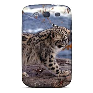 QblcCgR6030NewkI Mialisabblake Awesome Case Cover Compatible With Galaxy S3 - Two Small Snow Leopards