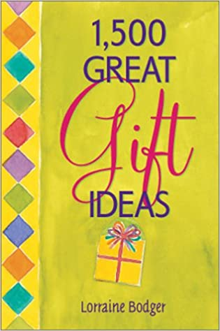Amazon 1 500 great gift ideas lorraine bodger reference negle Image collections