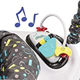 ExerSaucer Jump and Learn Stationary Jumper, Jam