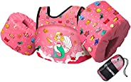 Chriffer Kids Swim Vest for 30-50 Pounds Boys and Girls, Toddler Floats with Shoulder Harness Arm Wings for 2,