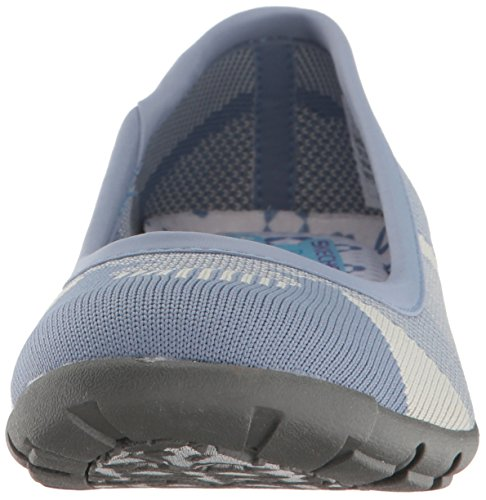 Skechers Donna Carriera-quick Comfort Balletto Blu / Grigio