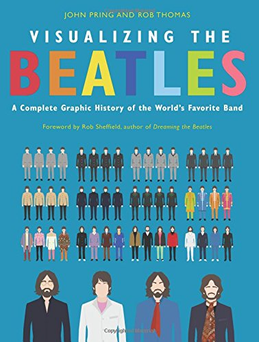 "The Beatles Polska: Zapowiedź książki ""Visualizing The Beatles: A Complete Graphic History of the World"