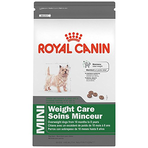 ROYAL CANIN SIZE HEALTH NUTRITION MINI Weight Care dry dog food, 13-Pound
