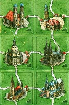Carcassonne – Catedral en Alemania Ampliación y Carcassonne – Edición de Invierno – Ampliación de círculos de Grano: Amazon.es: Juguetes y juegos
