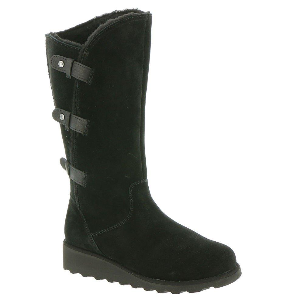 BEARPAW Women's Hayden Boot Black II Size 6 B(M) US
