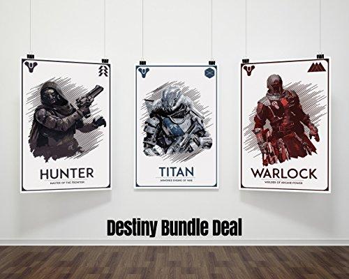 Hunter, Titan, Warlock Poster Bundle