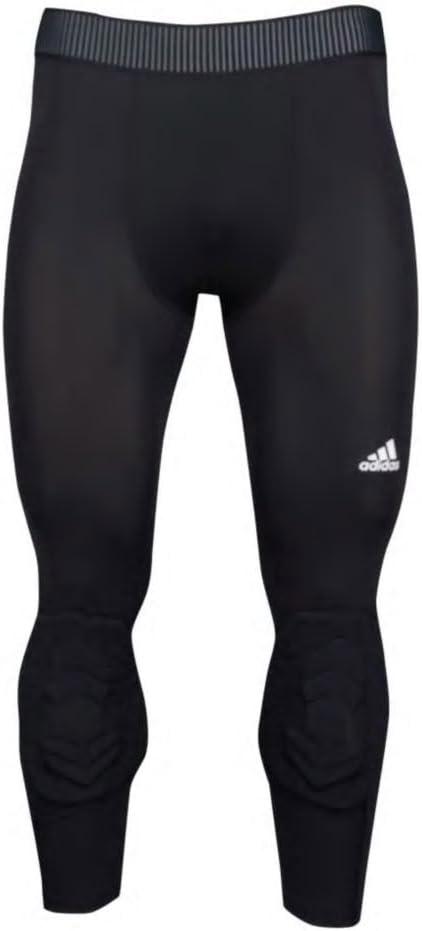 New Mens Adidas 3//4 Long Techfit Compression Padded Pants Race Basketball