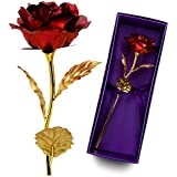 Unite Stone 11 Women for Whom You Loved Pretty Red Rose Nice Girls Unique Gift for Mom