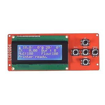 Prosperveil LCD 2004 LCD Display para impresora 3D Módulo Pantalla ...