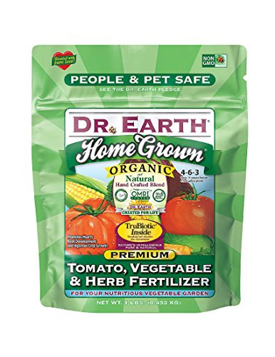 Dr. Earth Organic & Natural MINI Home Grown Tomato, Vegetable & Herb Fertilizer ( 1 lbs (Best Vegetable Naturals)