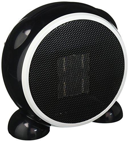 E-joy Ceramic Portable Personal Electric Space Heater, 500W, Black